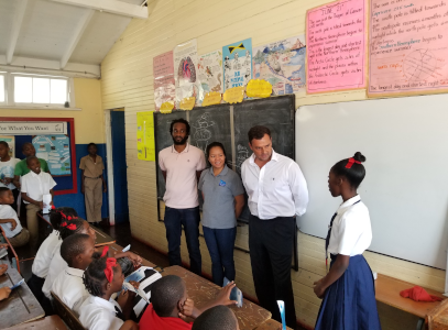 NWC, Miya Jamaica kick-starts 2020 with Water Conservation School Programme