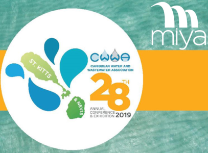 Miya sponsors the 28th Annual Conference and Exhibition of the Caribbean Water and Wastewater Association